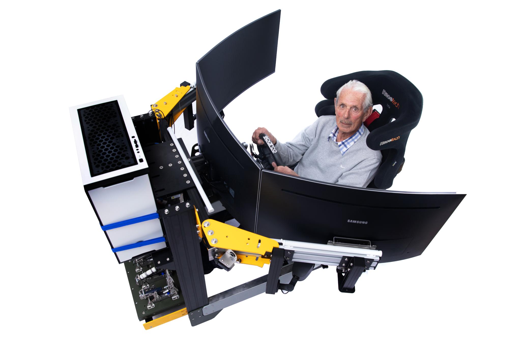 Sarel van der Merwe My Sim Racing Experience