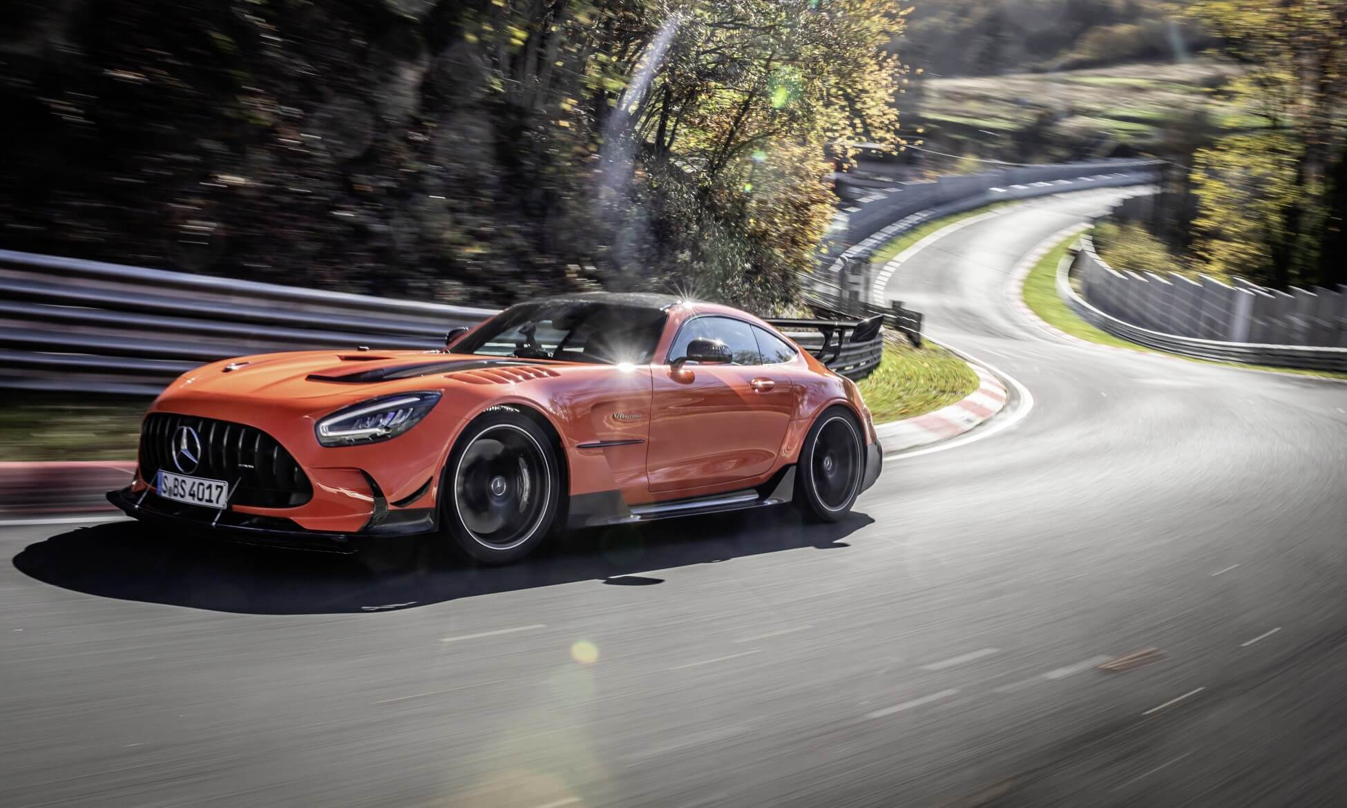 Mercedes-AMG GT Black Series Claims Nurburgring Record 1