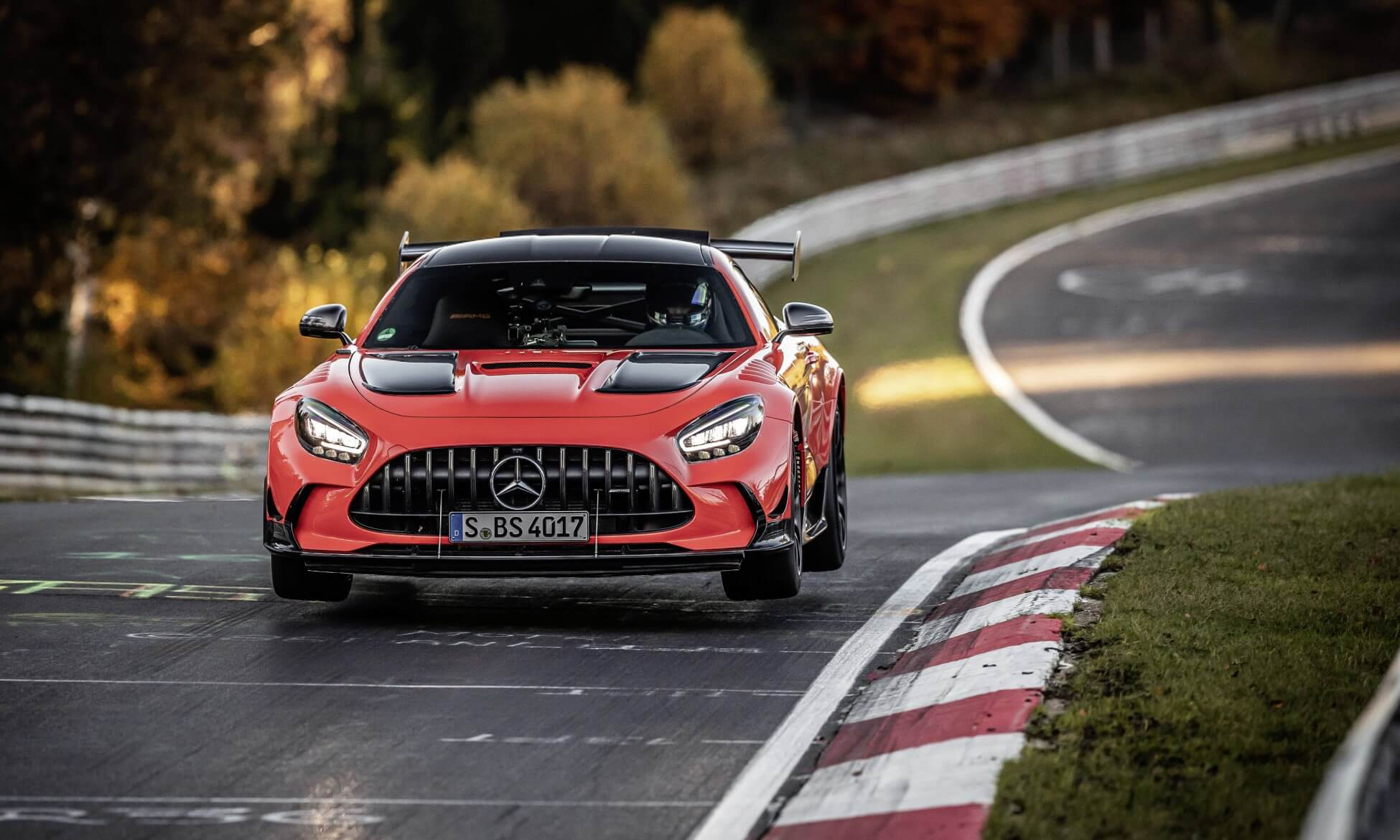 Mercedes-AMG GT Black Series Claims Nurburgring Record