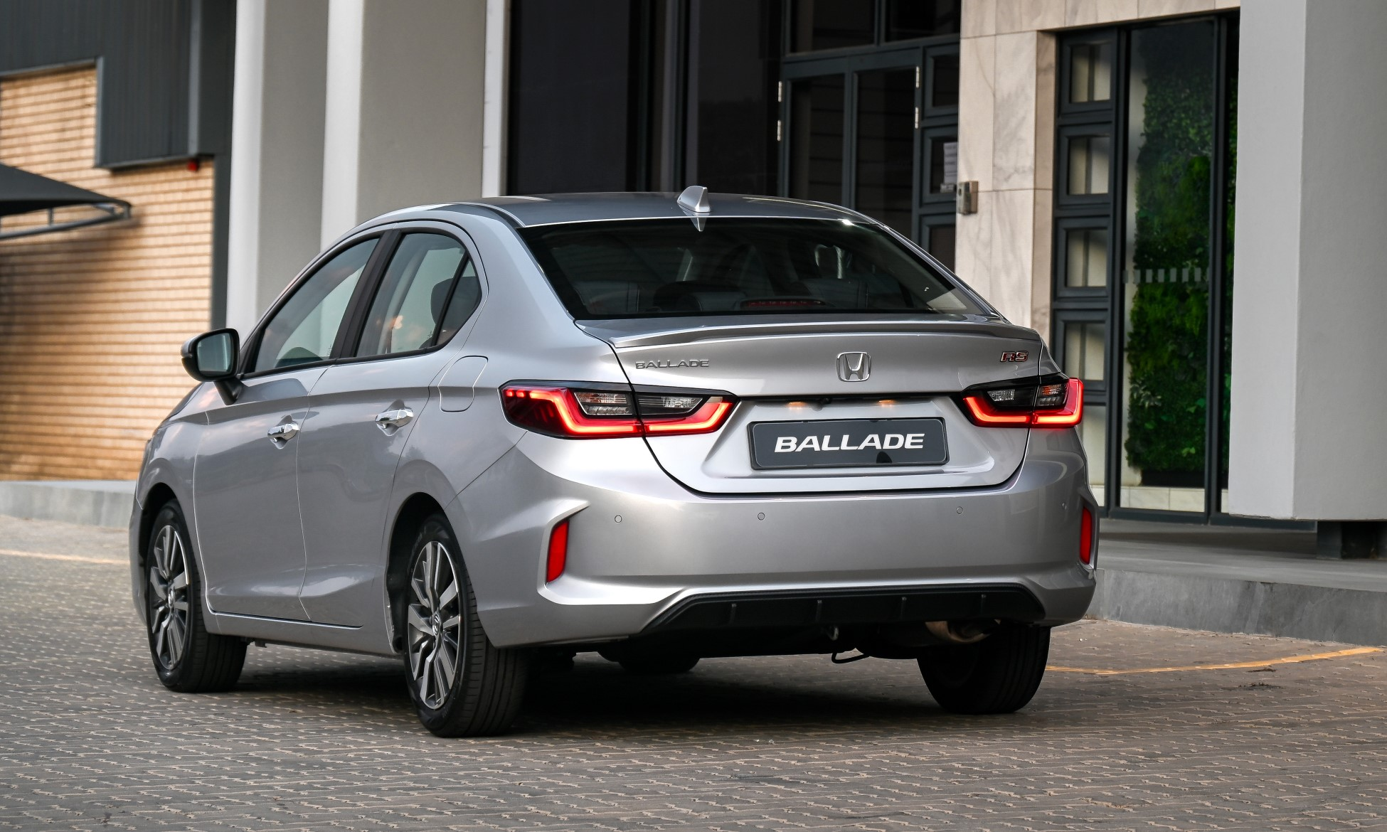 New Honda Ballade rear
