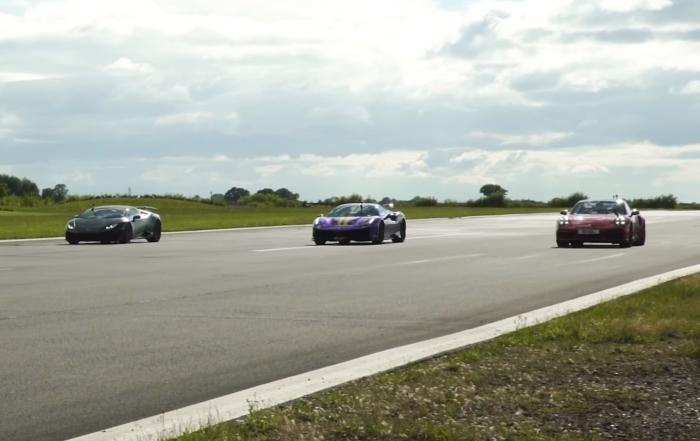 Super Coupe Drag Race