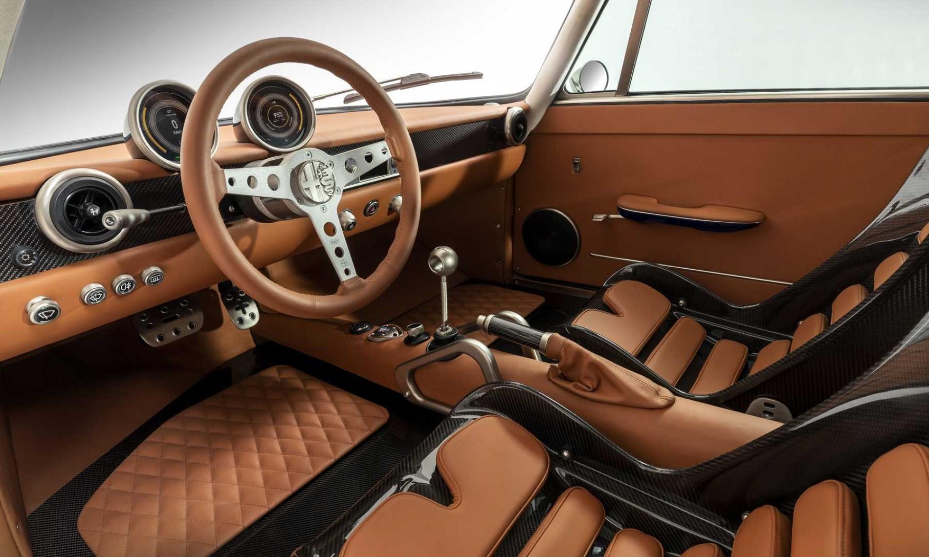 Totem Automobili Electric Alfa Romeo GT interior
