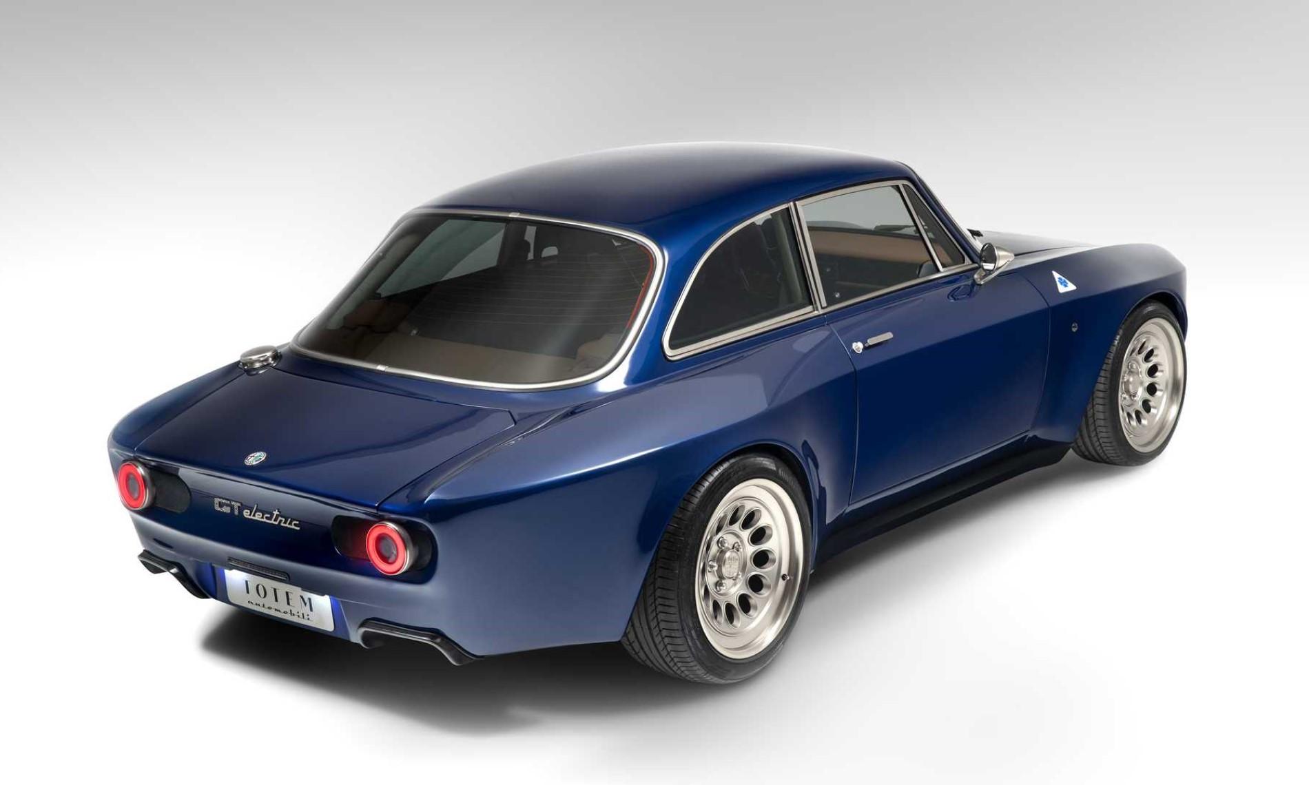 Totem Automobili Electric Alfa Romeo GT rear