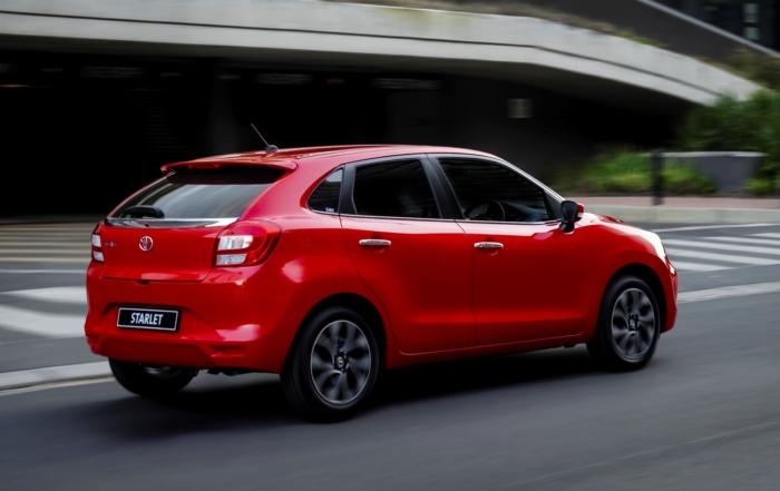 Toyota Starlet 1,4 Xr Driven rear