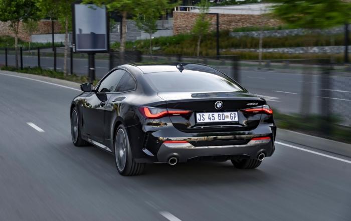 BMW 4 Series rear