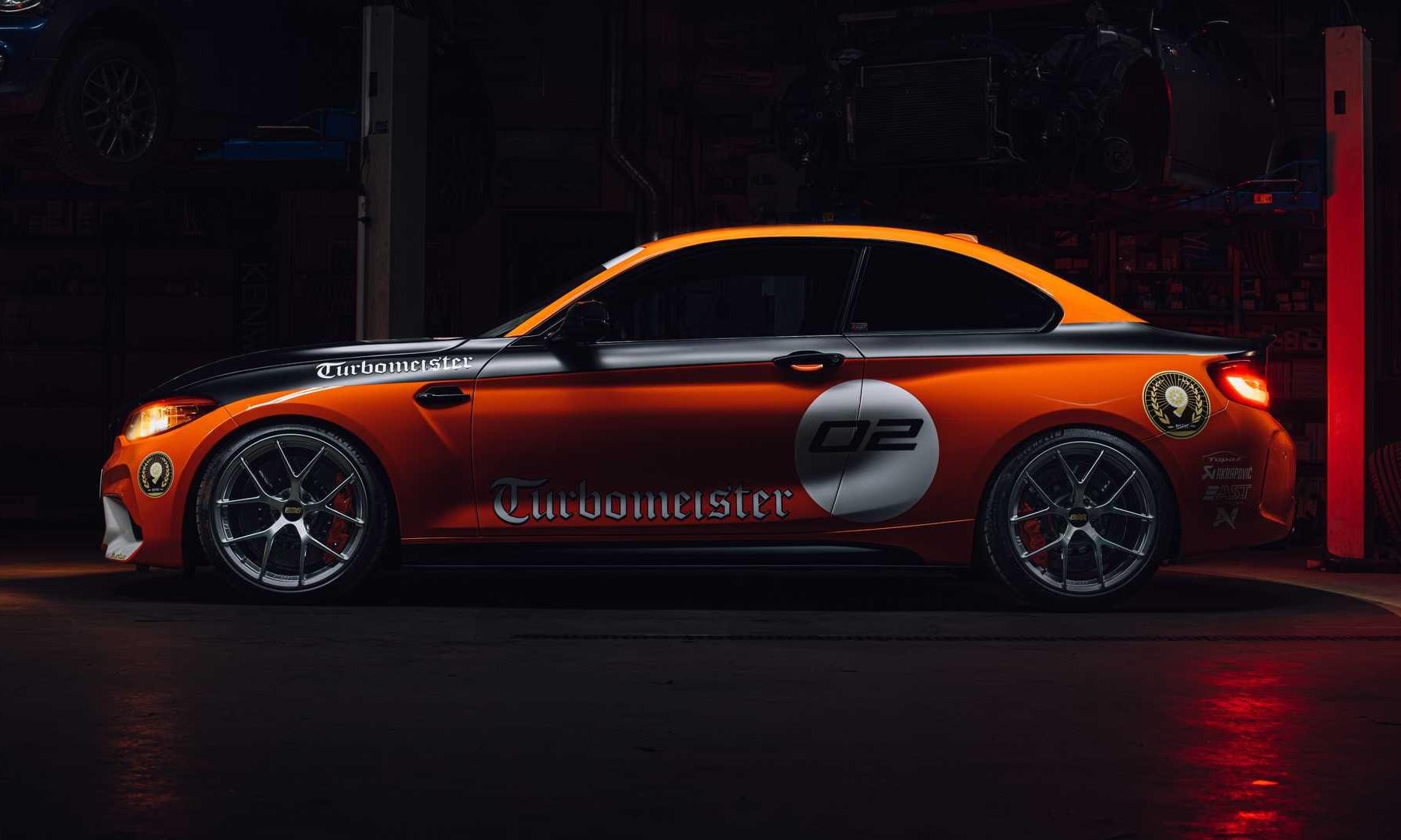 BMW M2 CSL Turbomeister profile