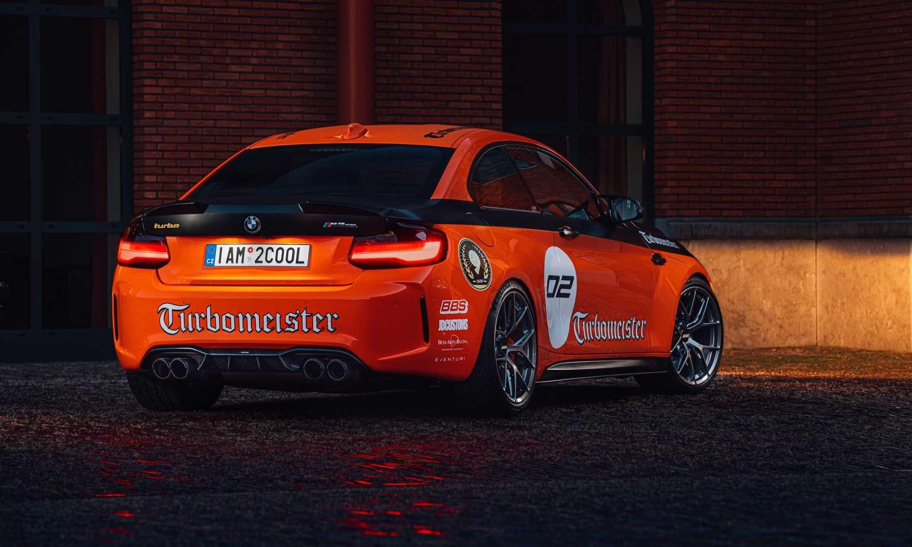 BMW M2 CSL Turbomeister rear