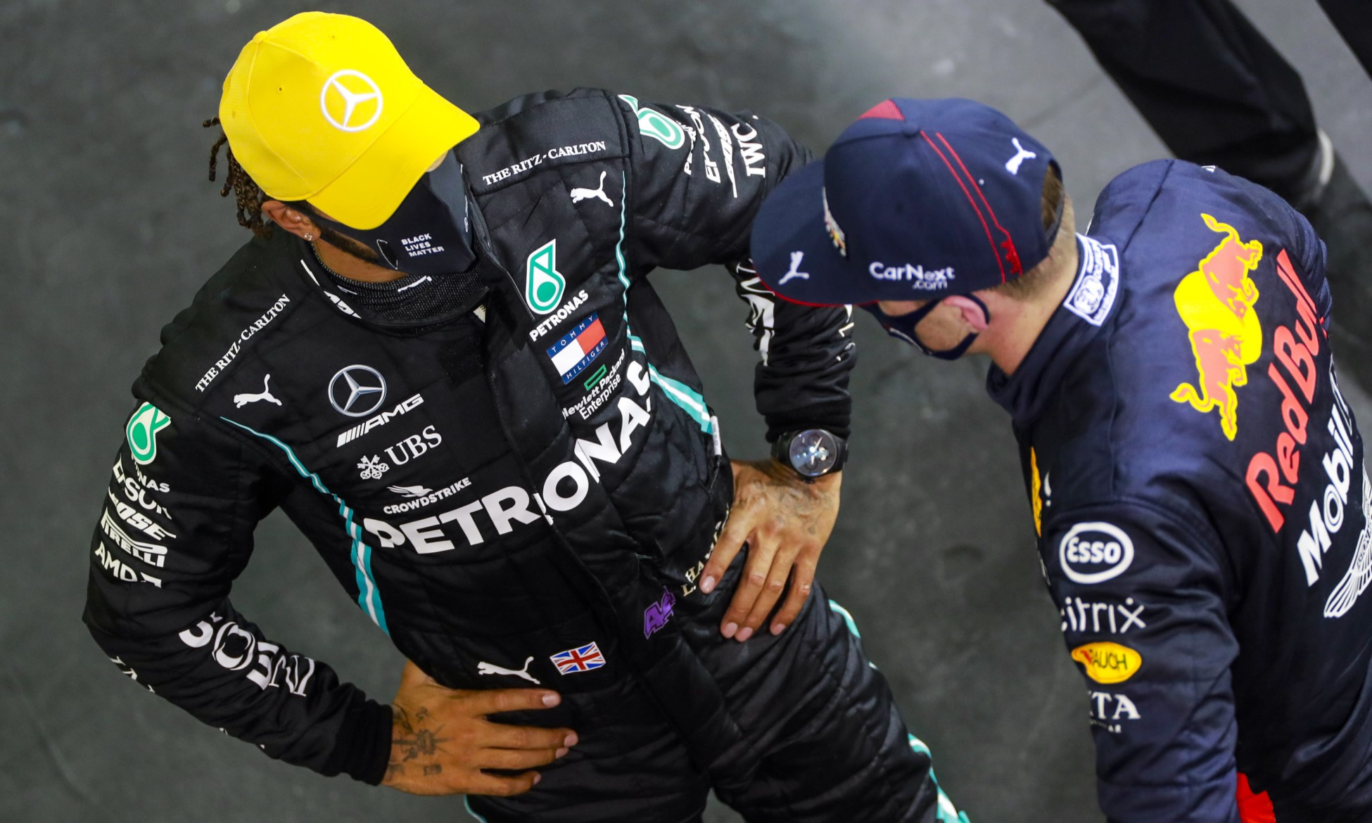 F1 Review Abu Dhabi 2020 Hamilton and Verstappen