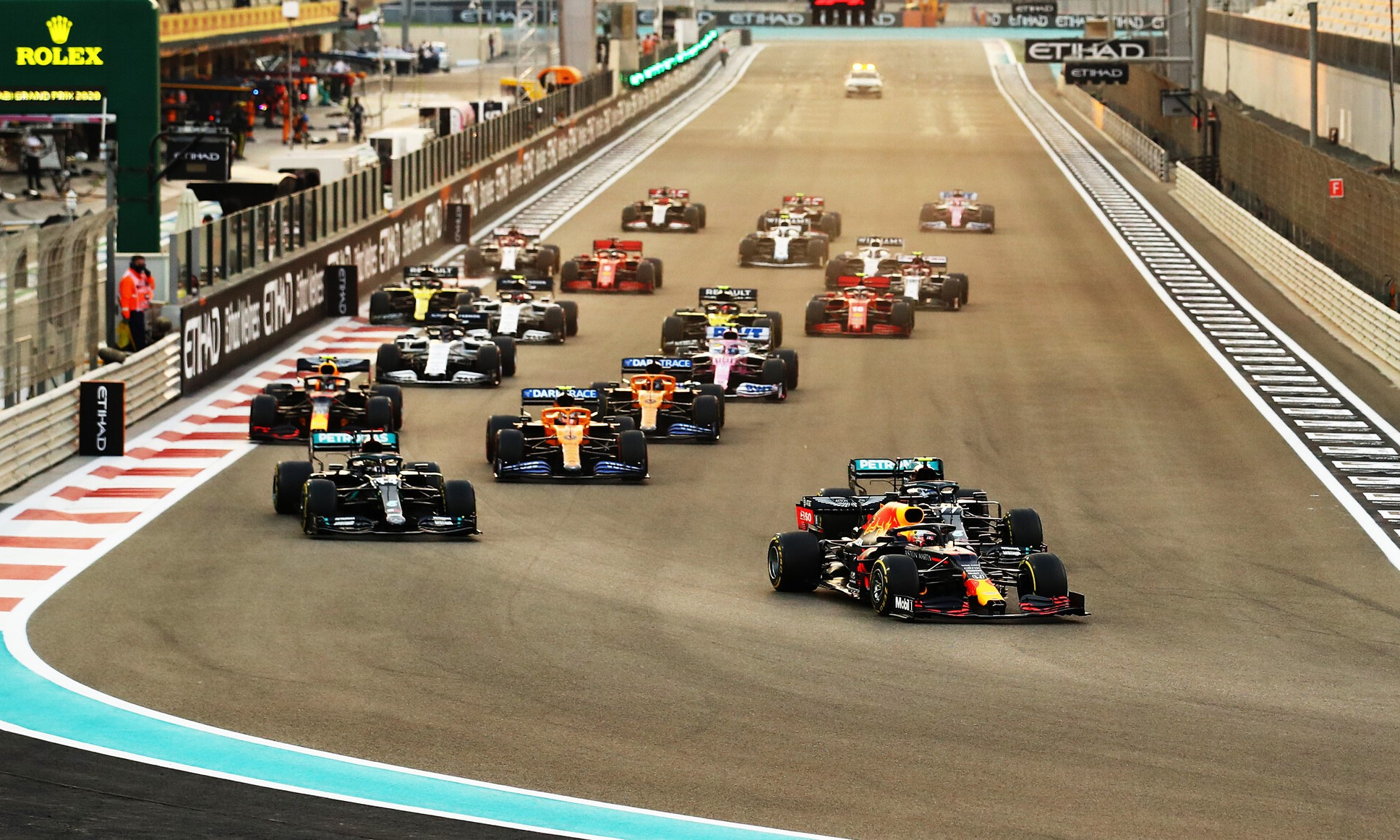 F1 Review Abu Dhabi 2020