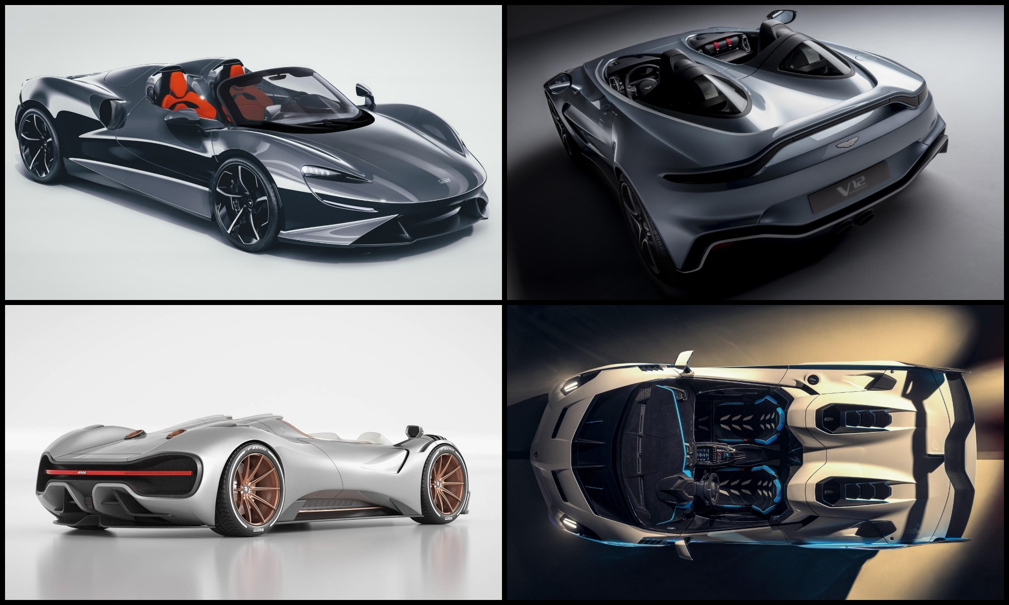 Five Best Roofless Supercars