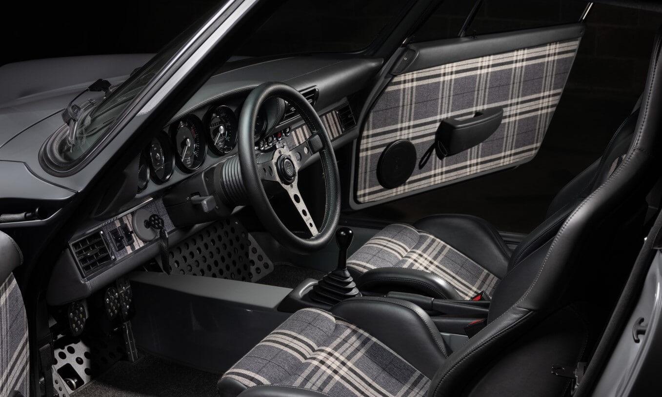 Kalmar Automotive Porsche 797 cabin