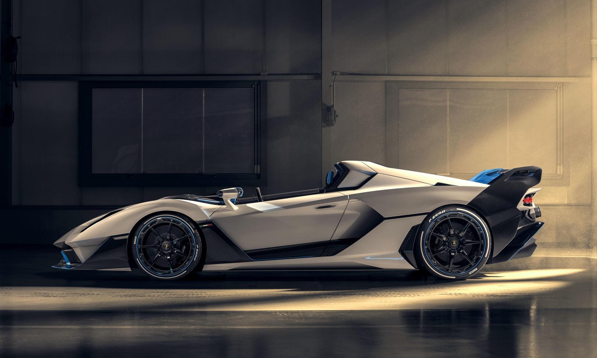 Lamborghini SC20 profile