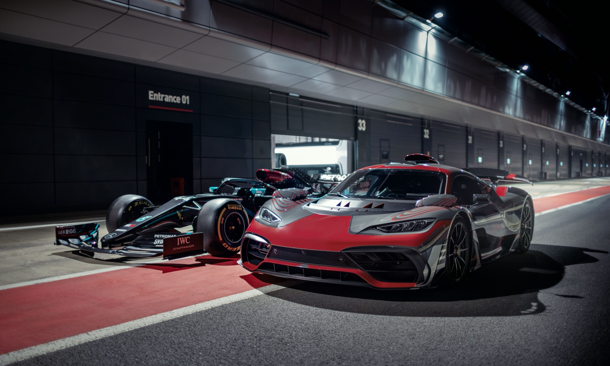 Mercedes-AMG Project One After Work