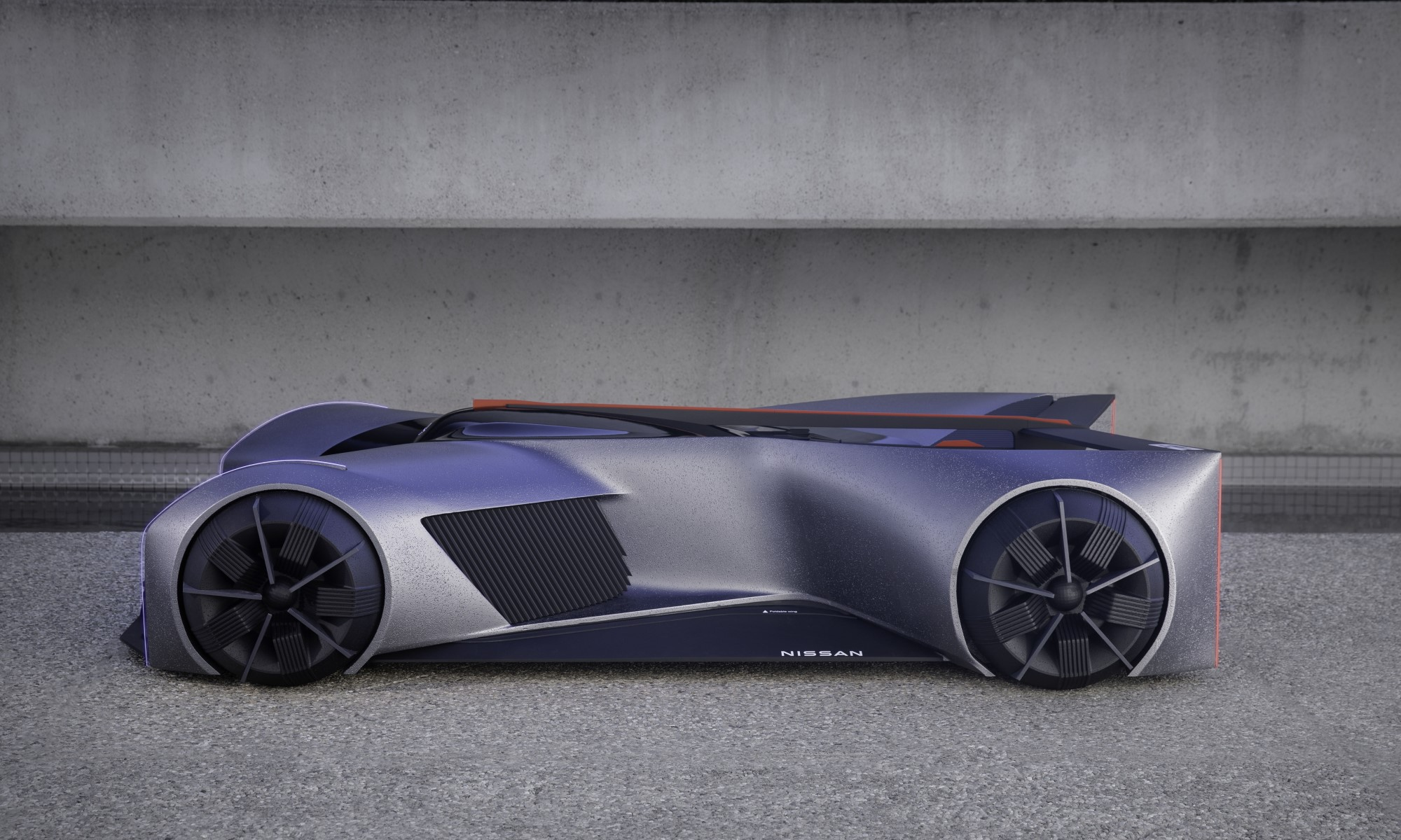 Nissan GT-R X 2050 profile