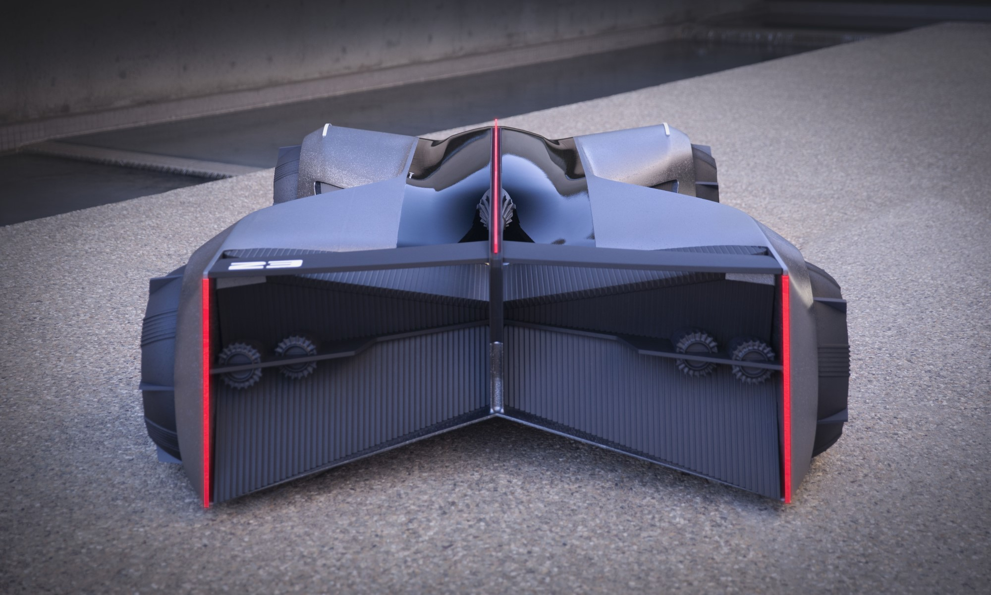 Nissan GT-R X 2050 rear