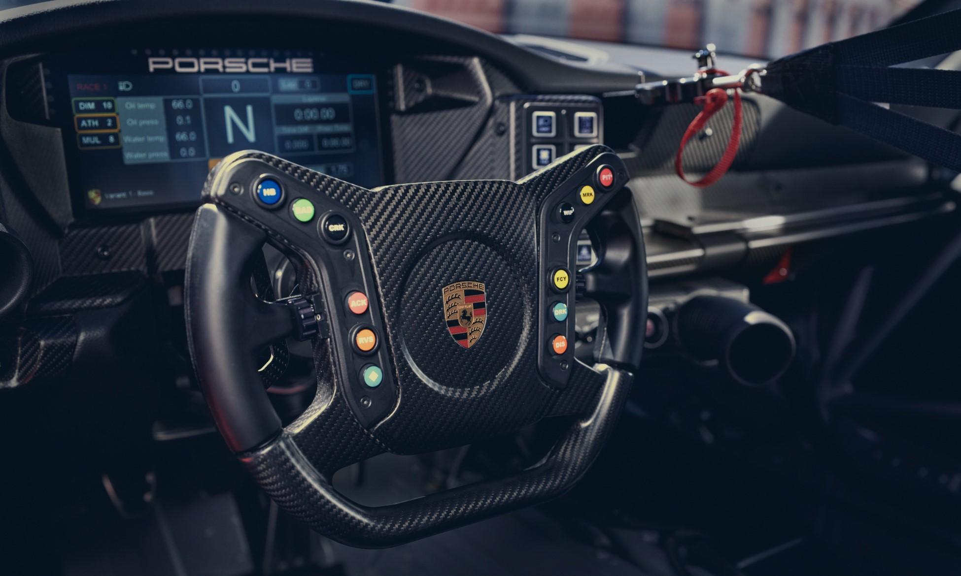 Porsche 992 GT3 Cup Car interior