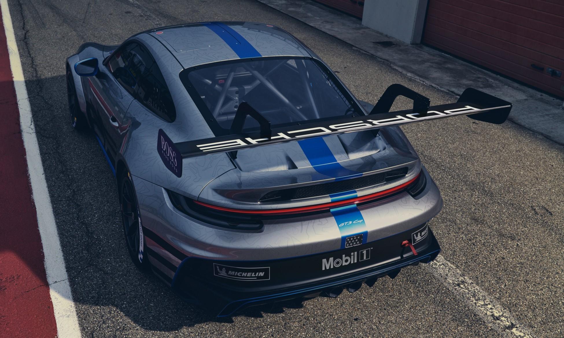 Porsche 992 GT3 Cup Car rear