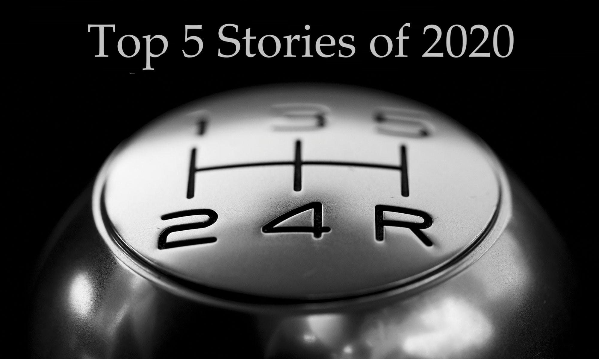 Top 5 stories of 2020