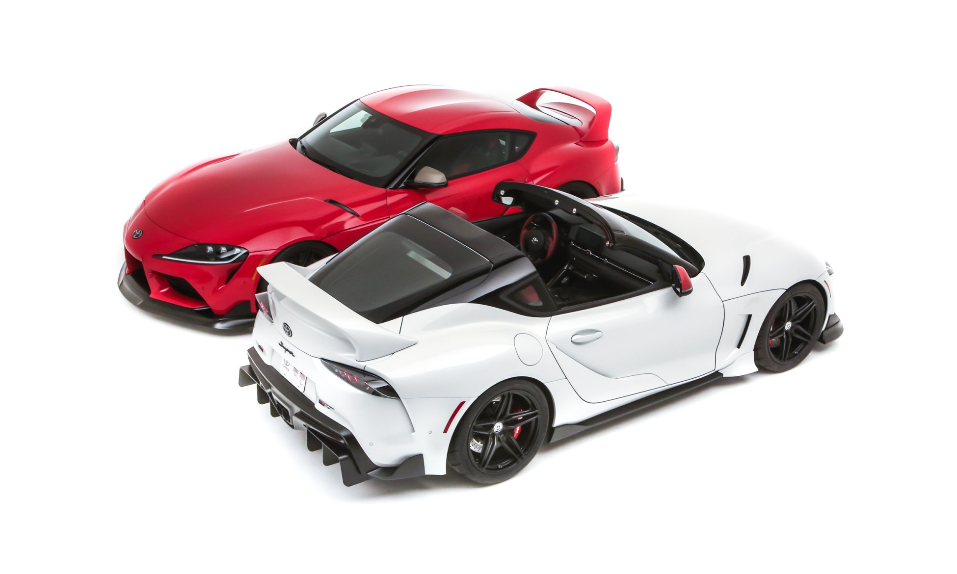 Toyota GR Supra Sport Top and Heritage Edition