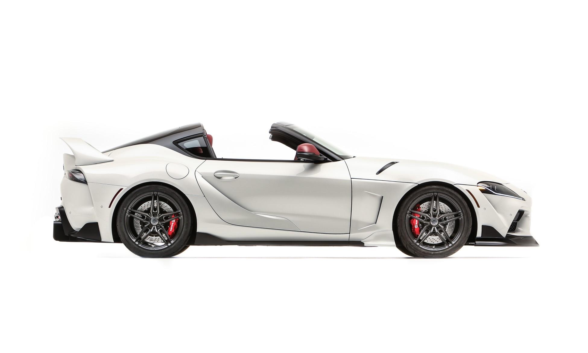 Toyota GR Supra Sport Top profile