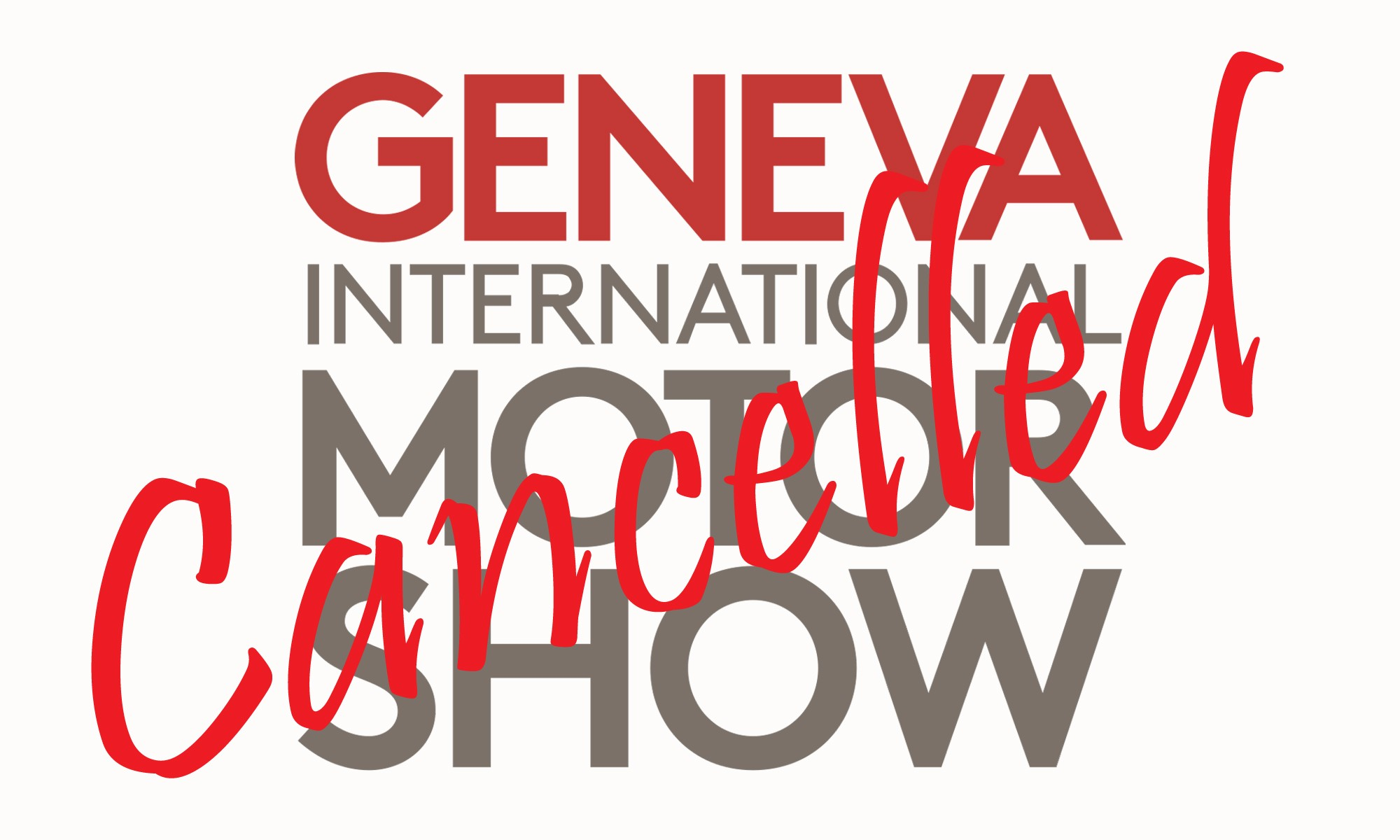 2022 Geneva Motor Show Cancelled