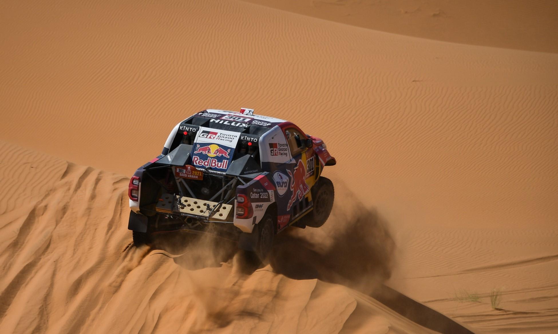Al-Attiyah won 2021 Dakar Stage 4