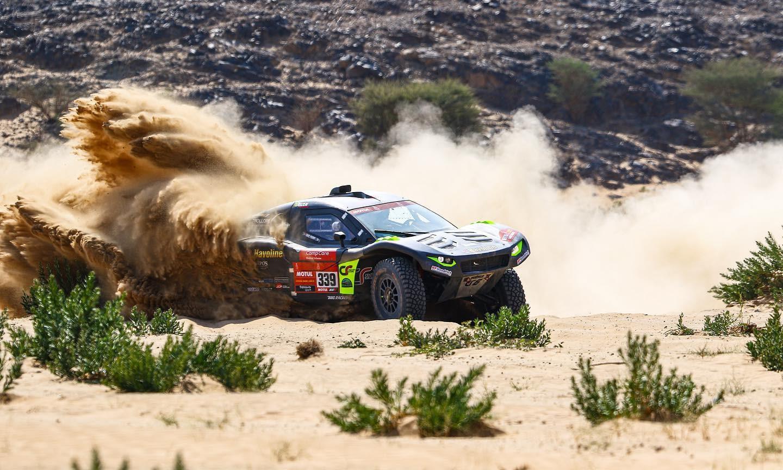 Brian Baragwanath was impressive on 2021 Dakar Stage 5