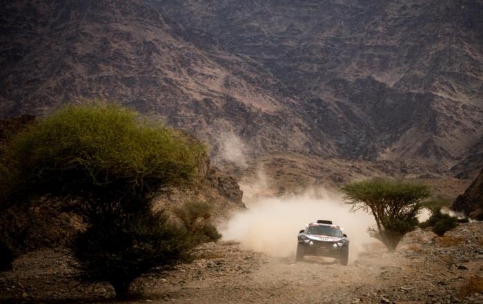 Carlos Sainz on 2021 Dakar Stage 11