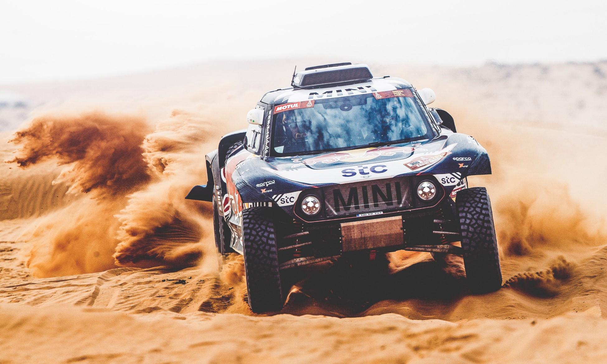 Carlos Sainz on 2021 Dakar Stage 7