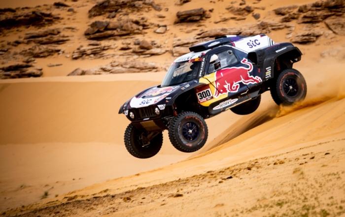 Carlos Sainz on 2021 Dakar Stage 8