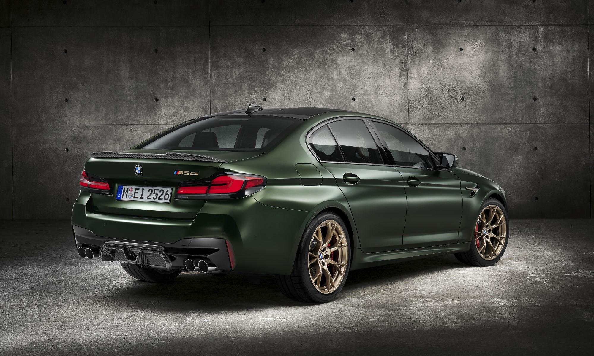 First-Ever BMW M5 CS rear