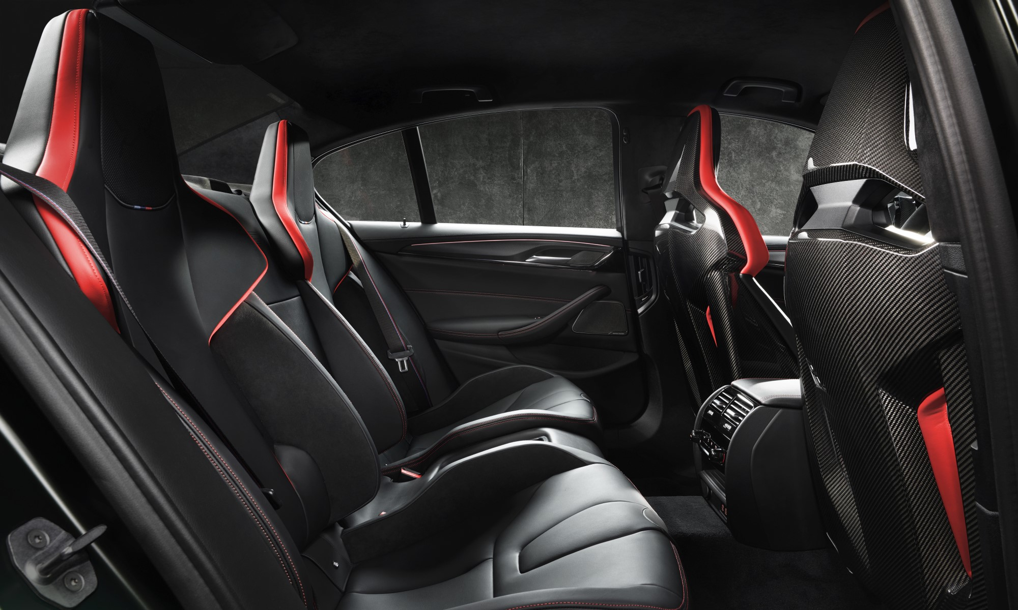 First-Ever BMW M5 CS seating