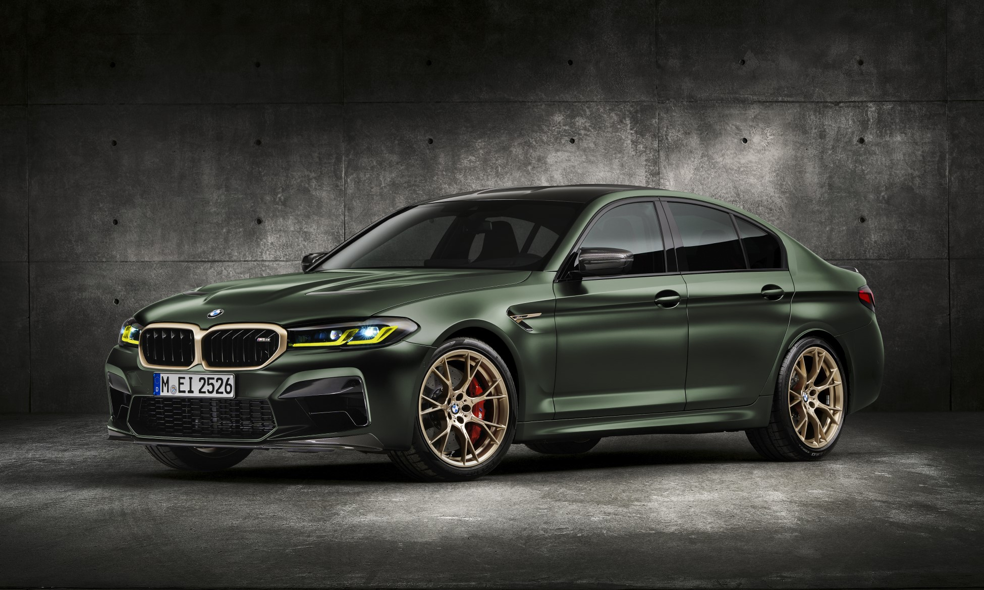 First-Ever BMW M5 CS