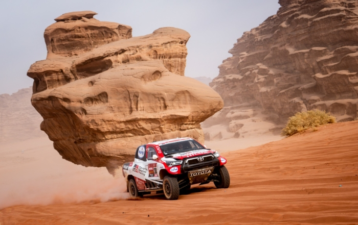 Giniel de Villiers on 2021 Dakar Stage 10