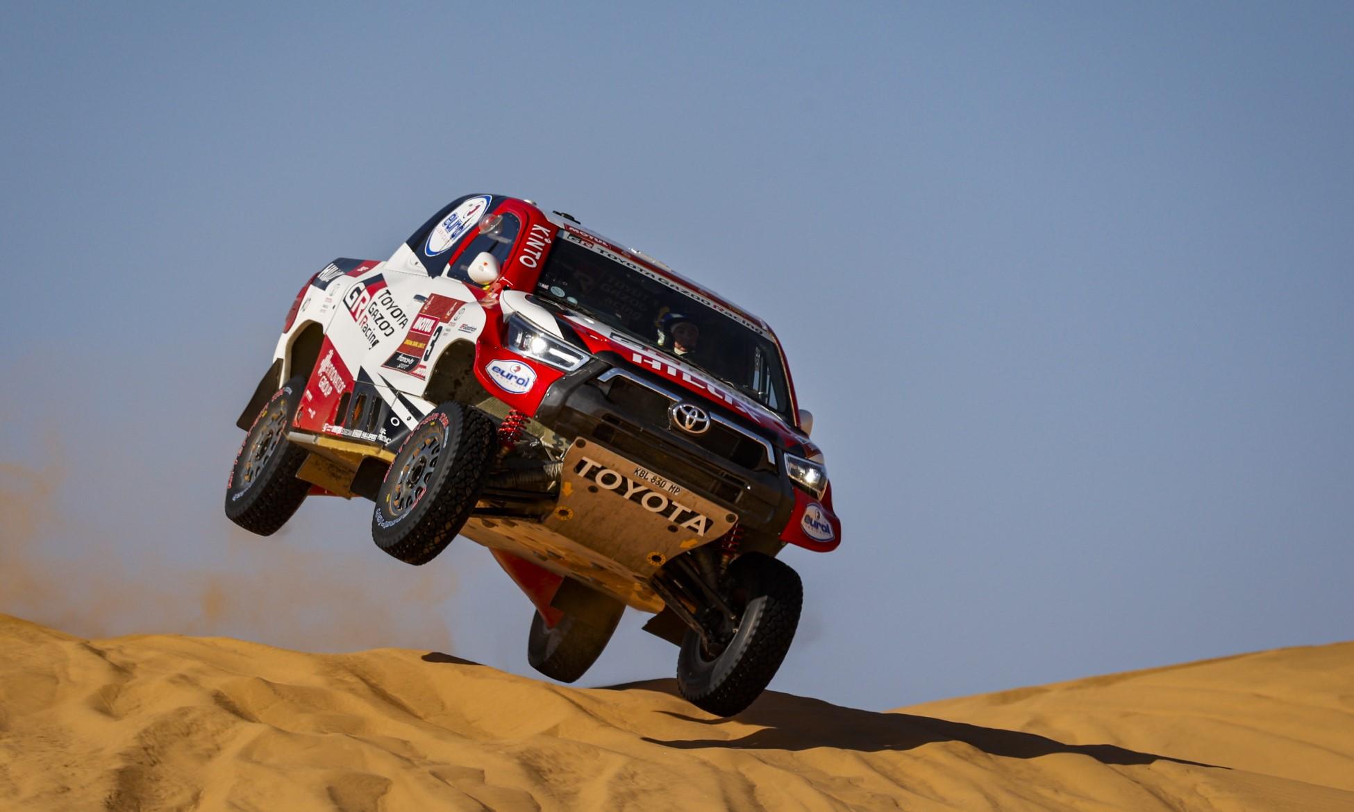 Giniel de Villiers on 2021 Dakar Stage 5