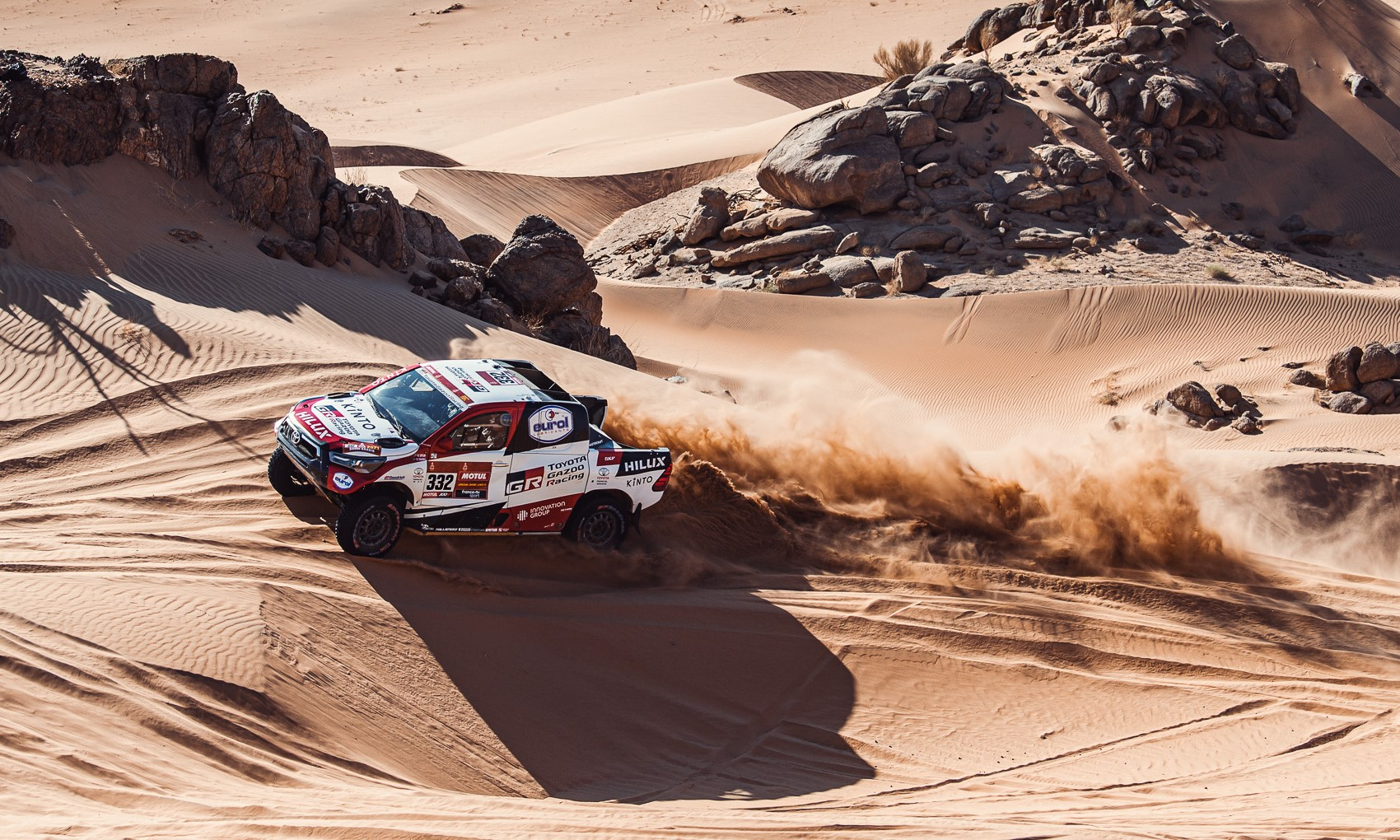 Henk Lategan ran extremely well on 2021 Dakar Stage 3