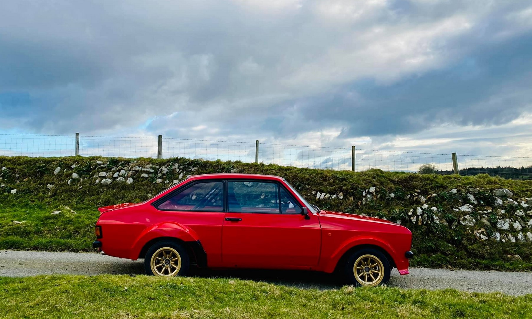 MST Ford Escort Mk2 profile