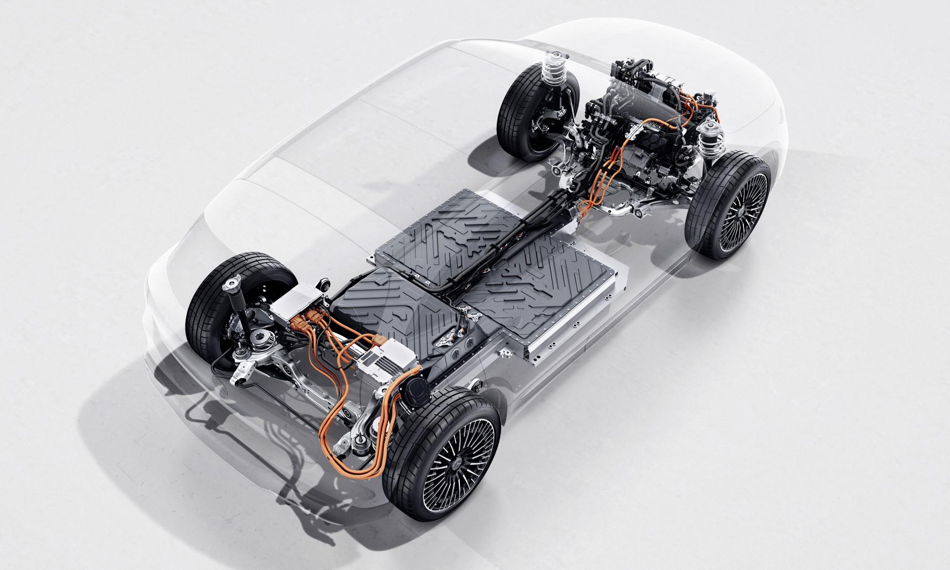Mercedes-Benz EQA250 drivetrain