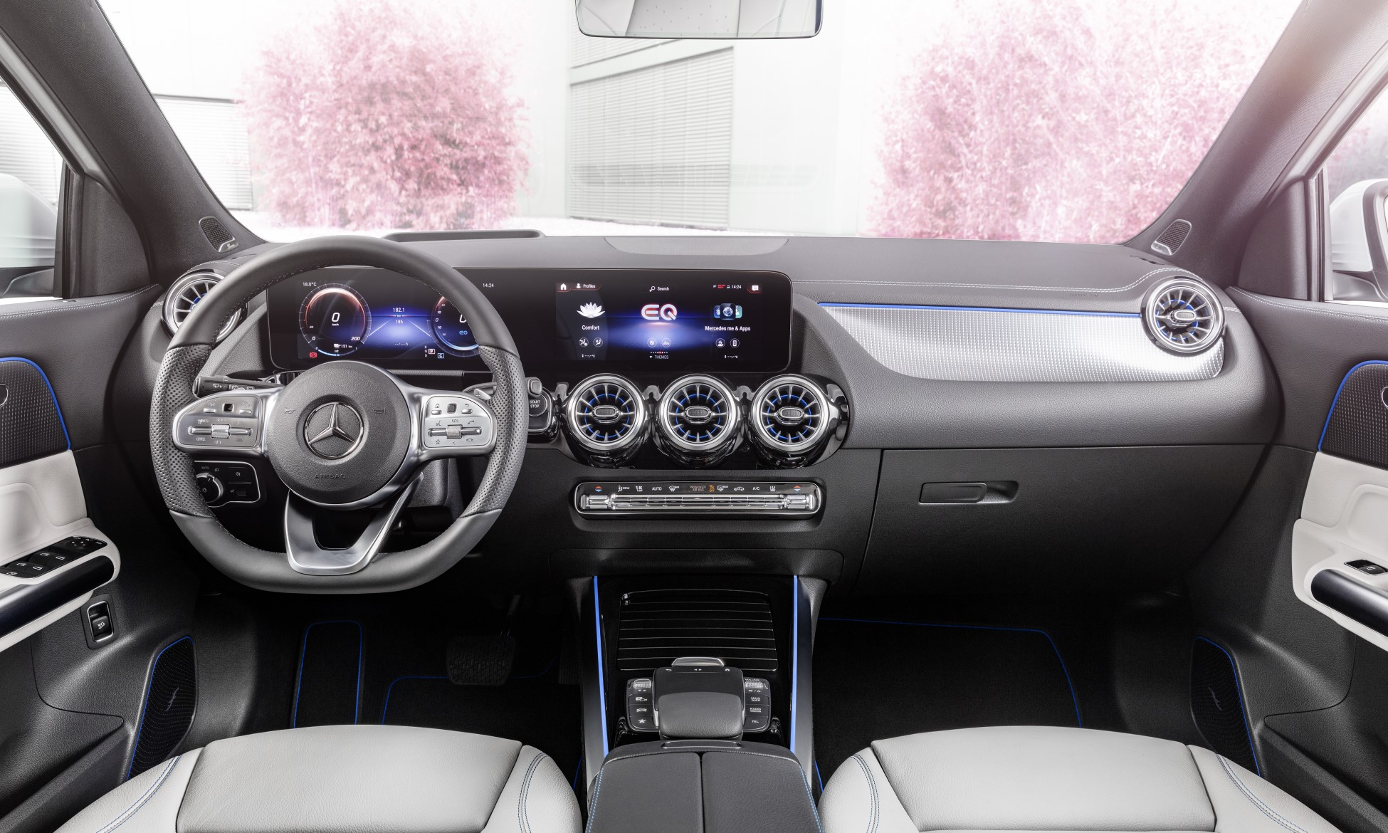 Mercedes-Benz EQA250 interior