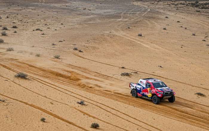 Nasser Al-Attiyah claimed his fifth stage win on 2021 Dakar Stage 8