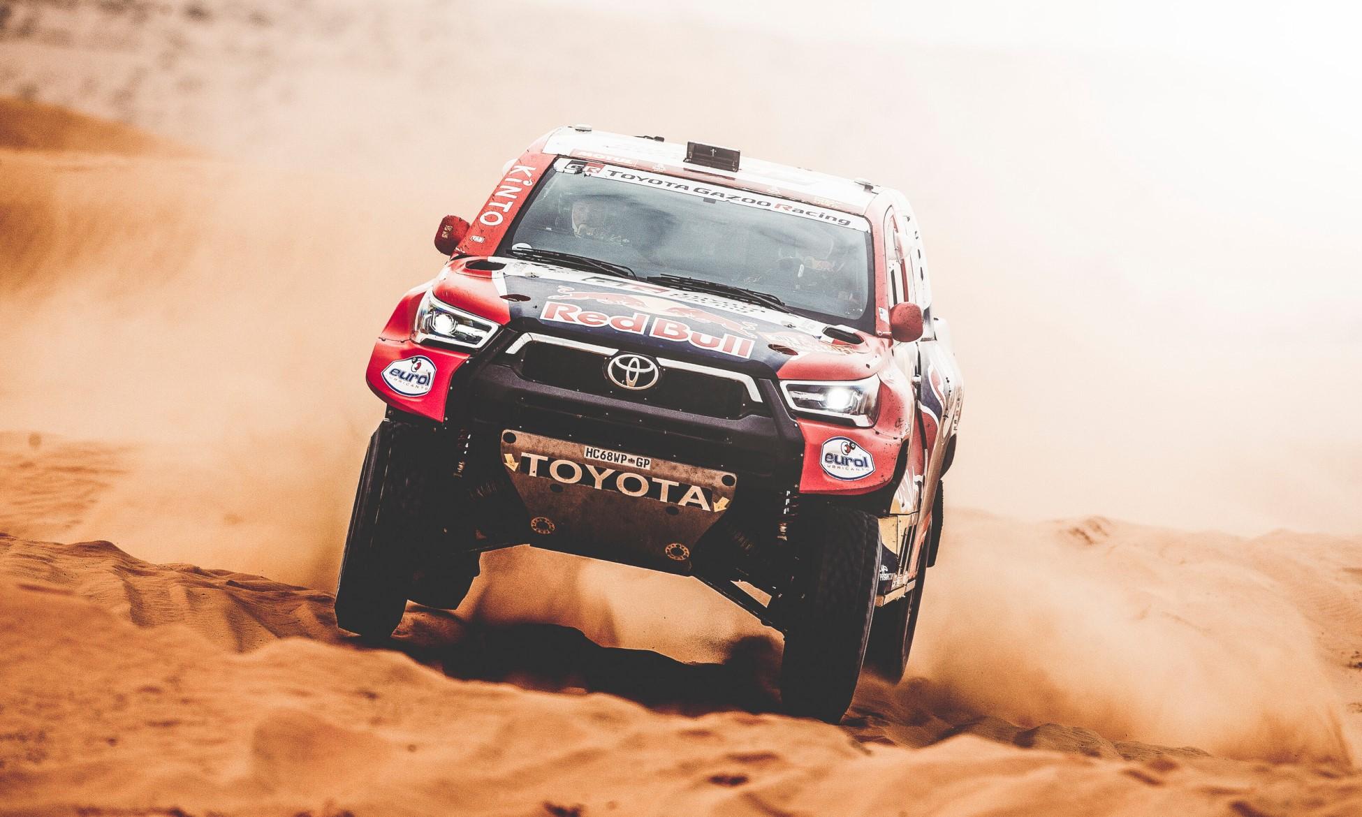 Nasser Al-Attiyah lost time on 2021 Dakar Stage 7