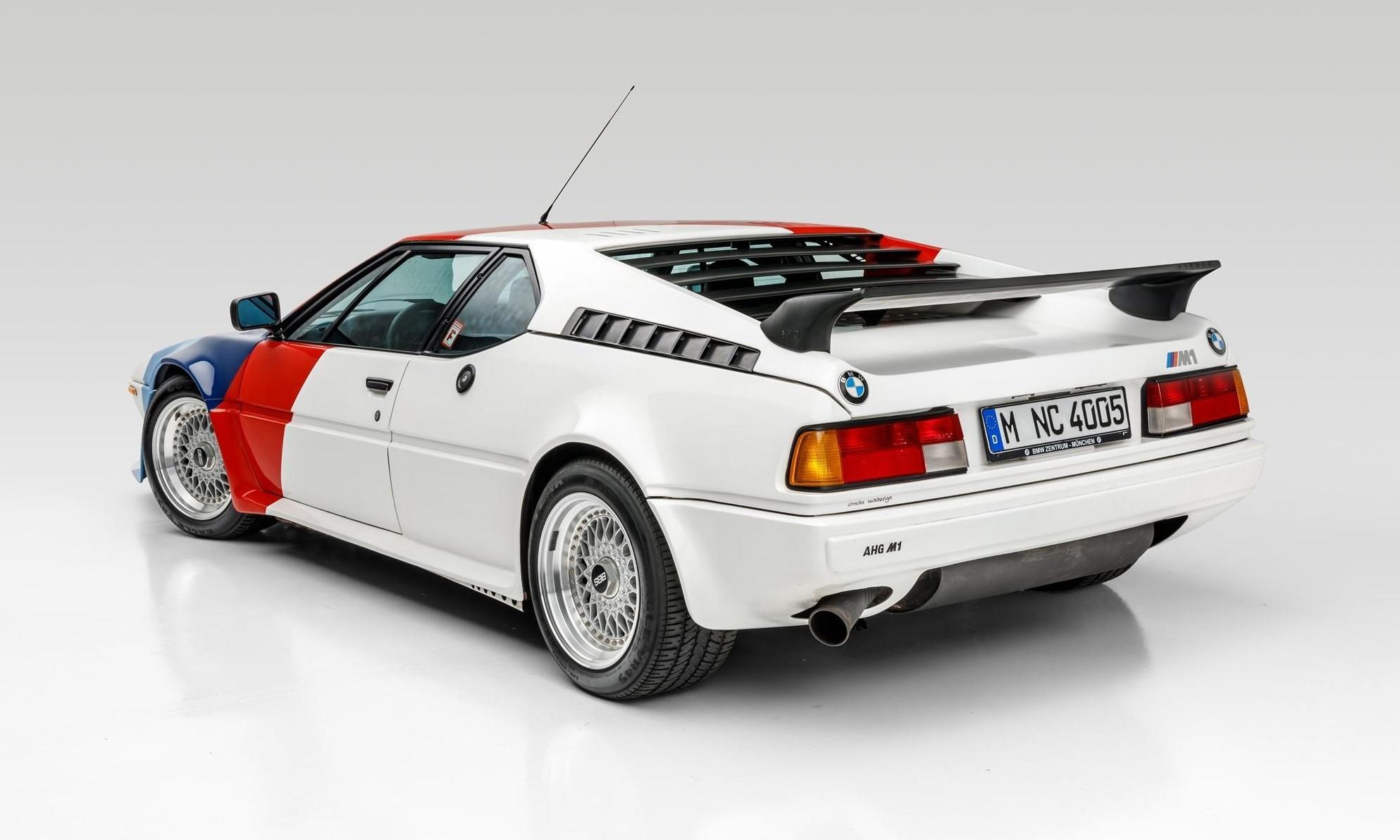 Paul Walker BMW M1 rear