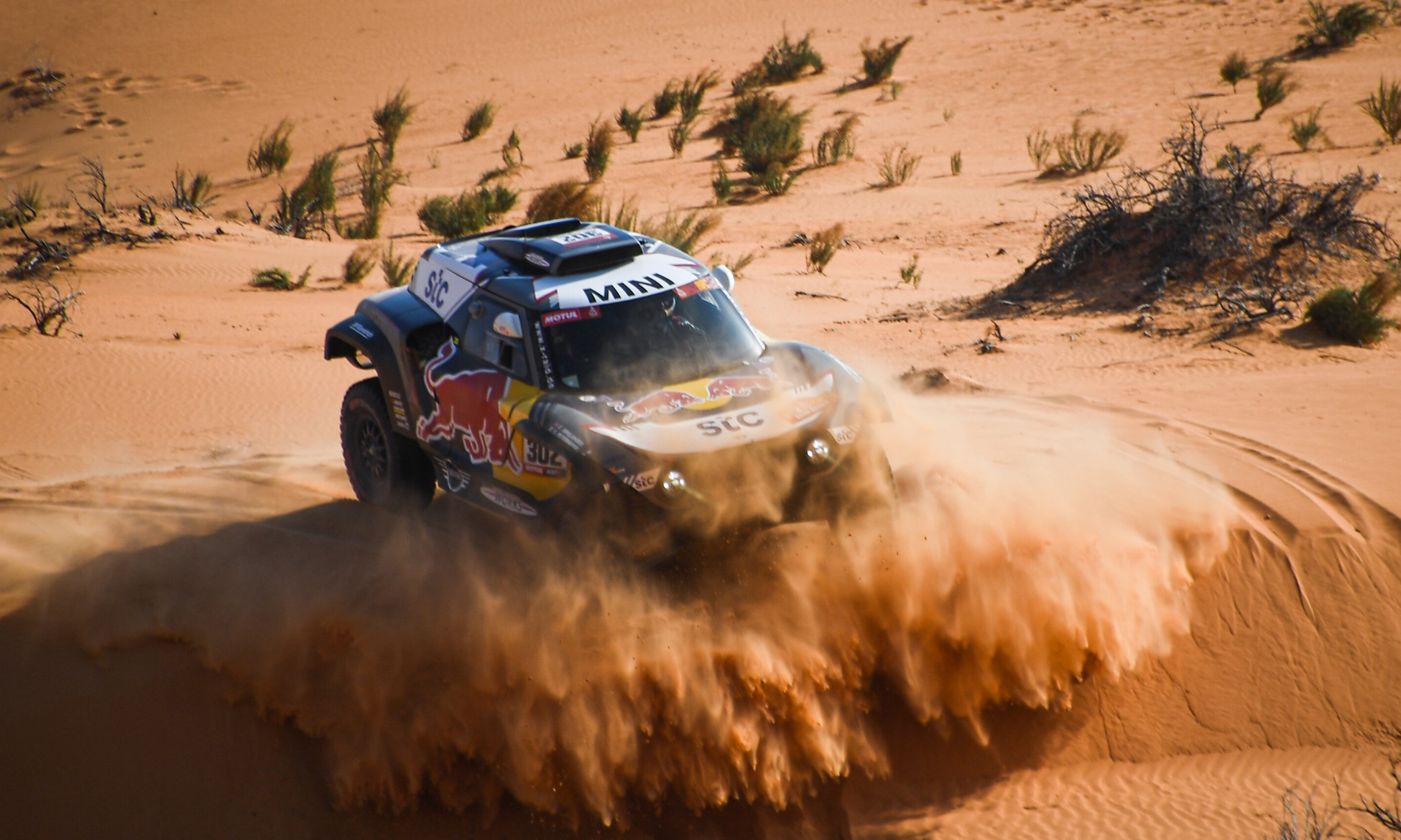 Peterhansel ran strong in the early part of 2021 Dakar Stage 7