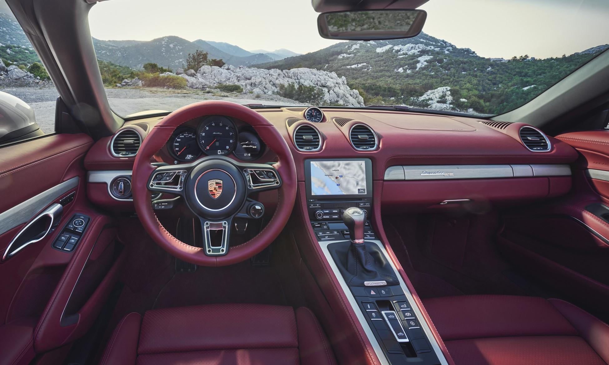Porsche Boxster 25th Anniversary interior