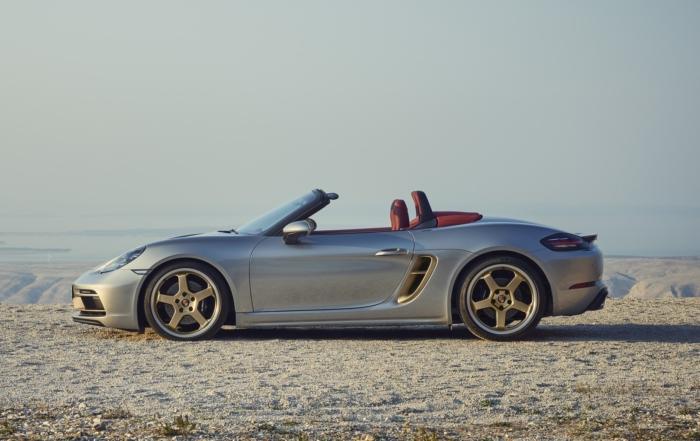 Porsche Boxster 25th Anniversary profile