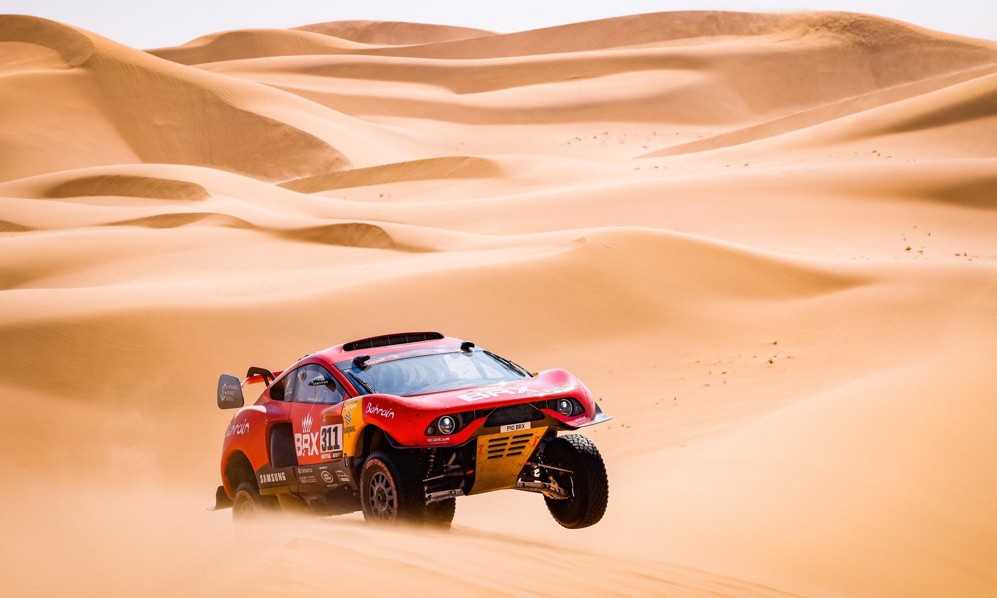 Sebastien Loeb had another flyer on 2021 Dakar Stage 4