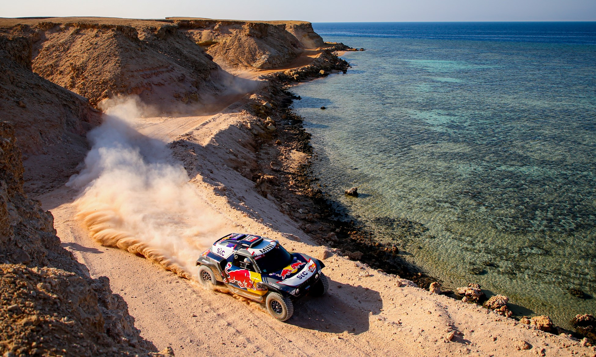 Stephane Peterhansel extended his overall lead on 2021 Dakar Stage 9 (Image J.Delfosse DPPI)