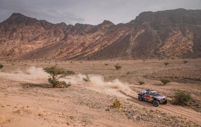 Stephane Peterhansel on 2021 Dakar Stage 11