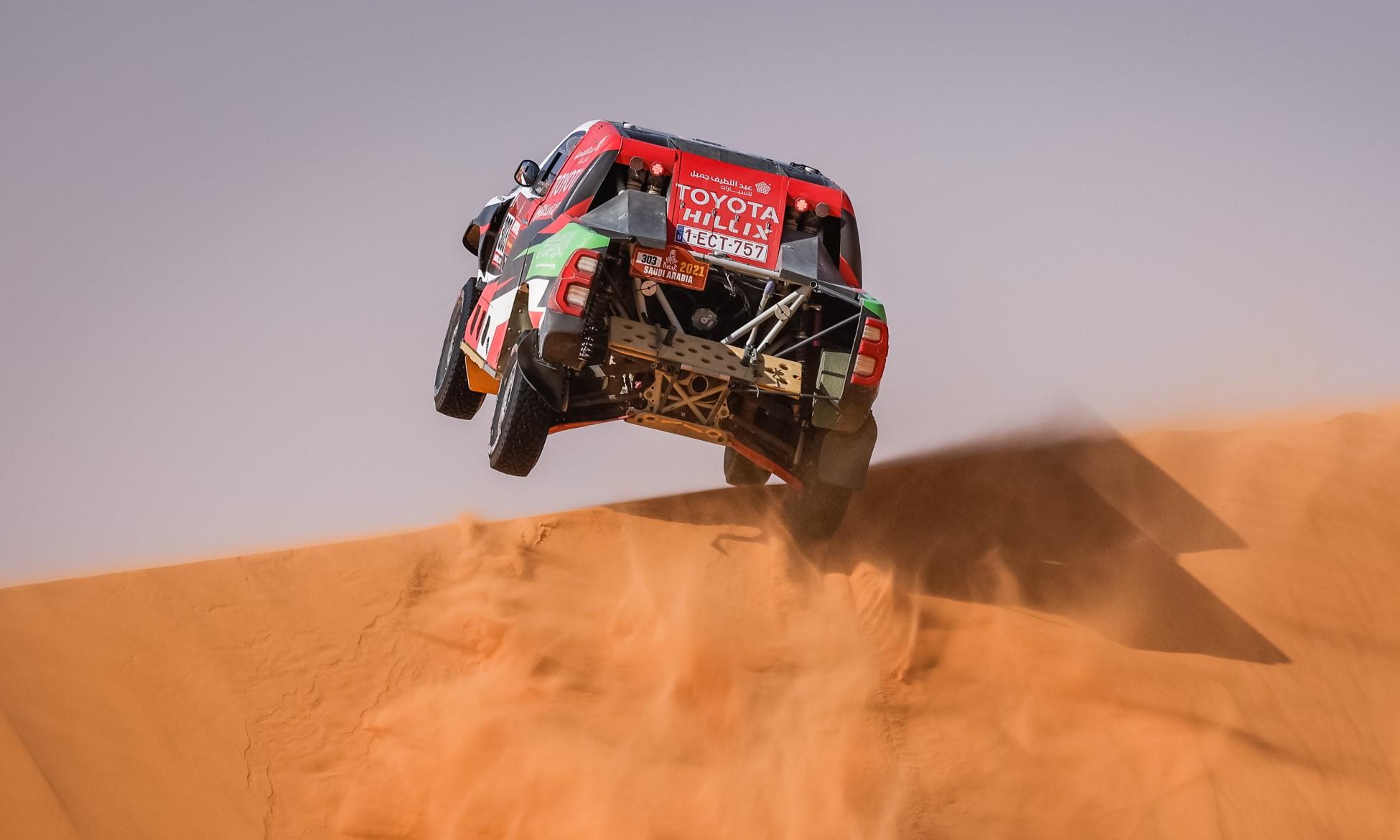 Yazeed Al Rajhi had an excellent 2021 Dakar Stage 6 (Image F.Gooden)