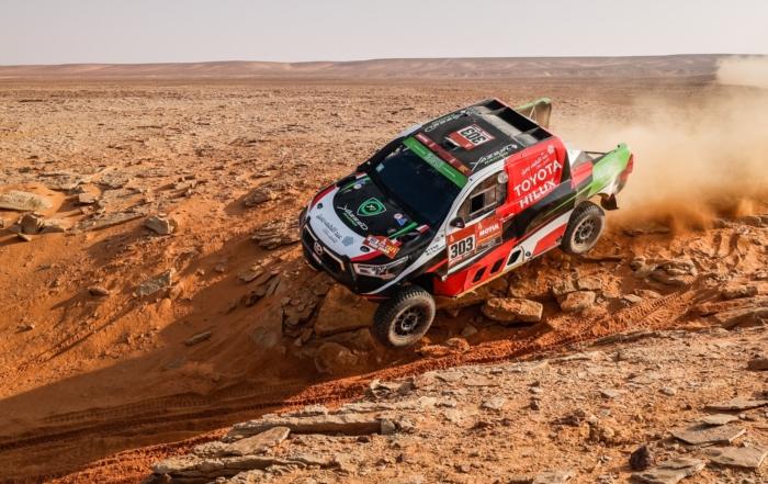 Yazeed Al-Rajhi had an excellent run on 2021 Dakar Stage 10 (Image A.S.O. F.Le Floch DPPI)